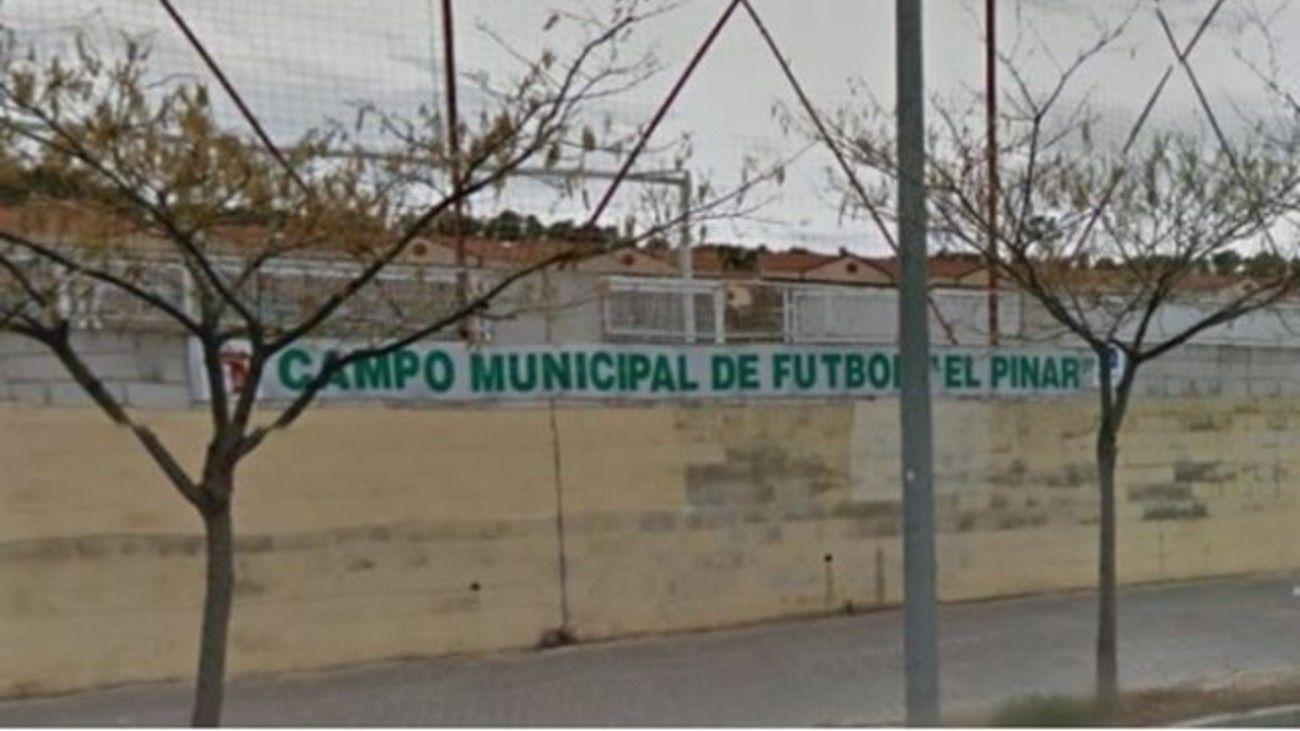 Campos de Fútbol Enrique Moreno Lalo de Aranjuez.