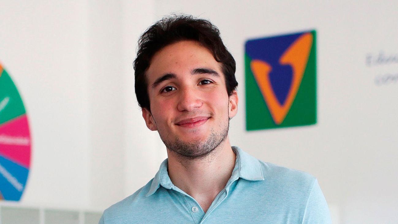 Franco Salinas, el alumno con mejor nota de la EvAU en Madrid