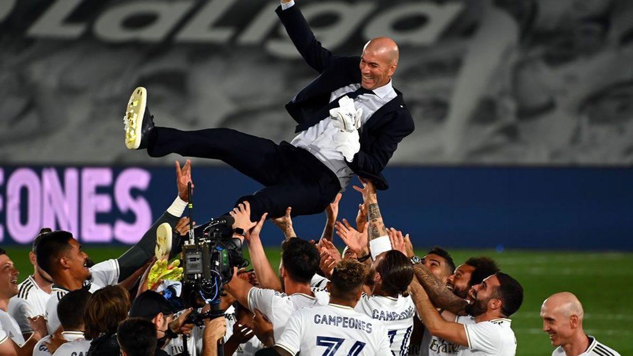 "Zidane: ""Hoy sí se se puede sonreir"""