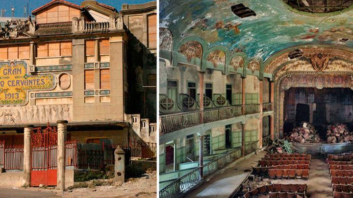 El Teatro Cervantes de Tánger, patrimonio olvidado