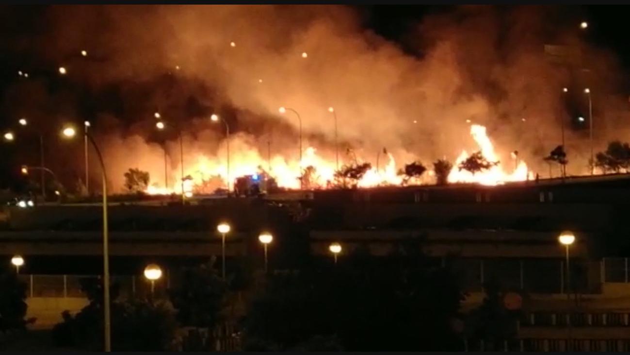 Cansados de los incendios en Pitis