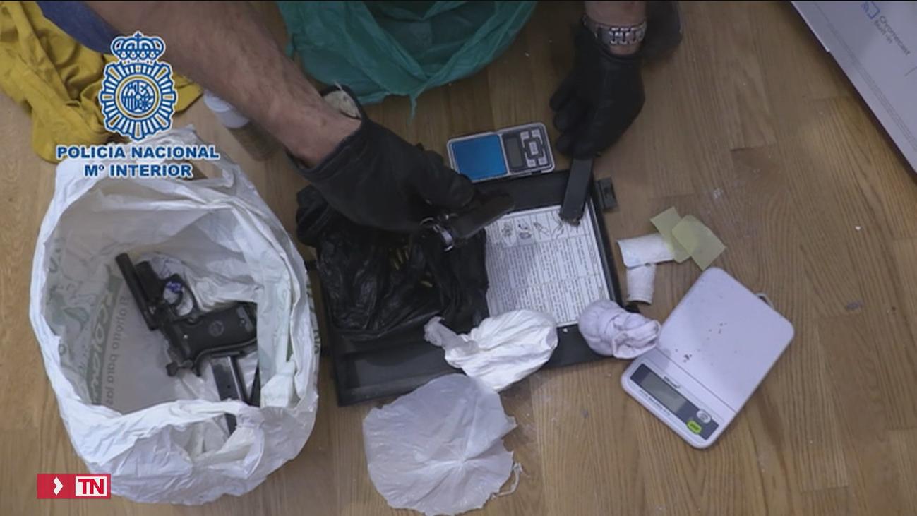 Cae en Madrid una banda de ladrones especializada en 'vuelcos' de droga