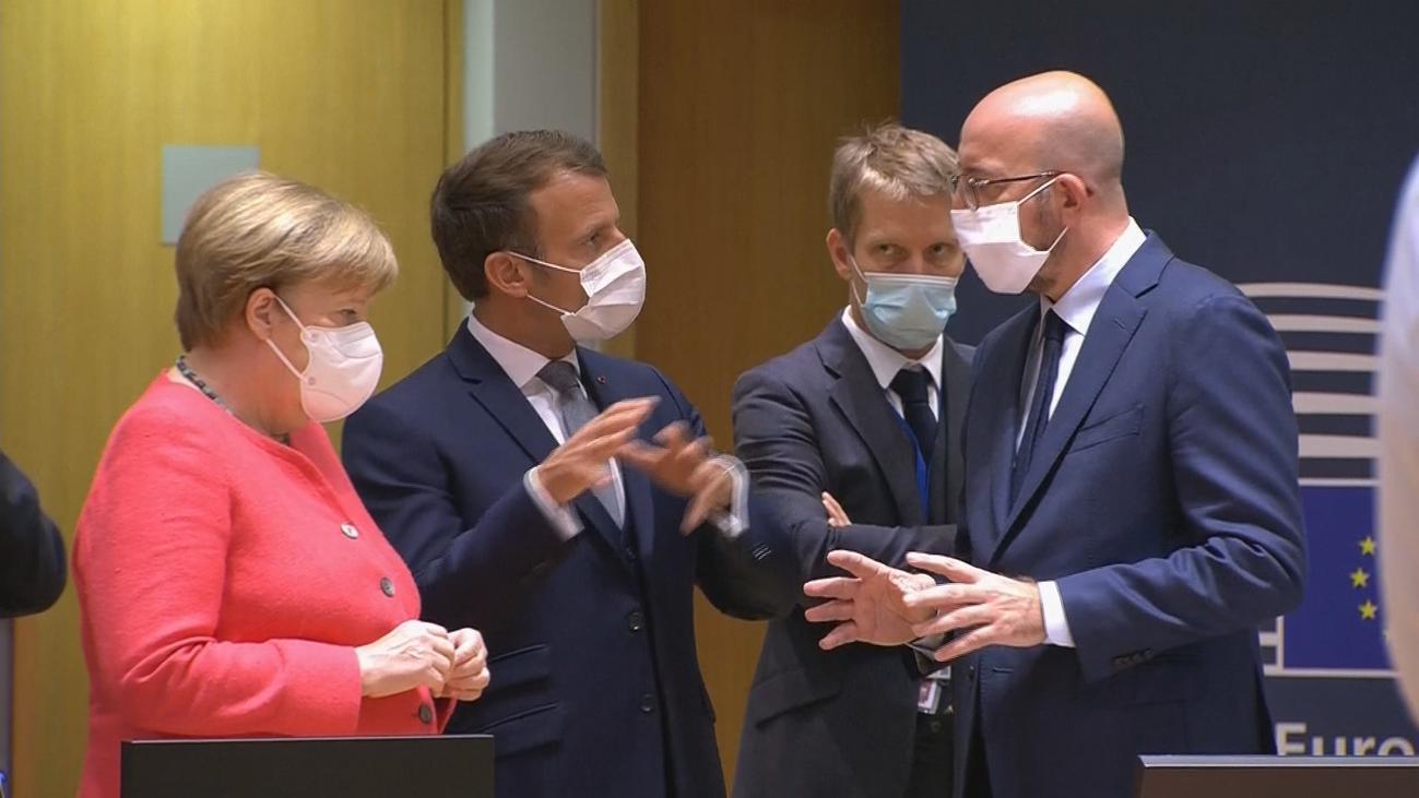 Los líderes de la UE retoman la cumbre sobre el fondo europeo que se prevé larga