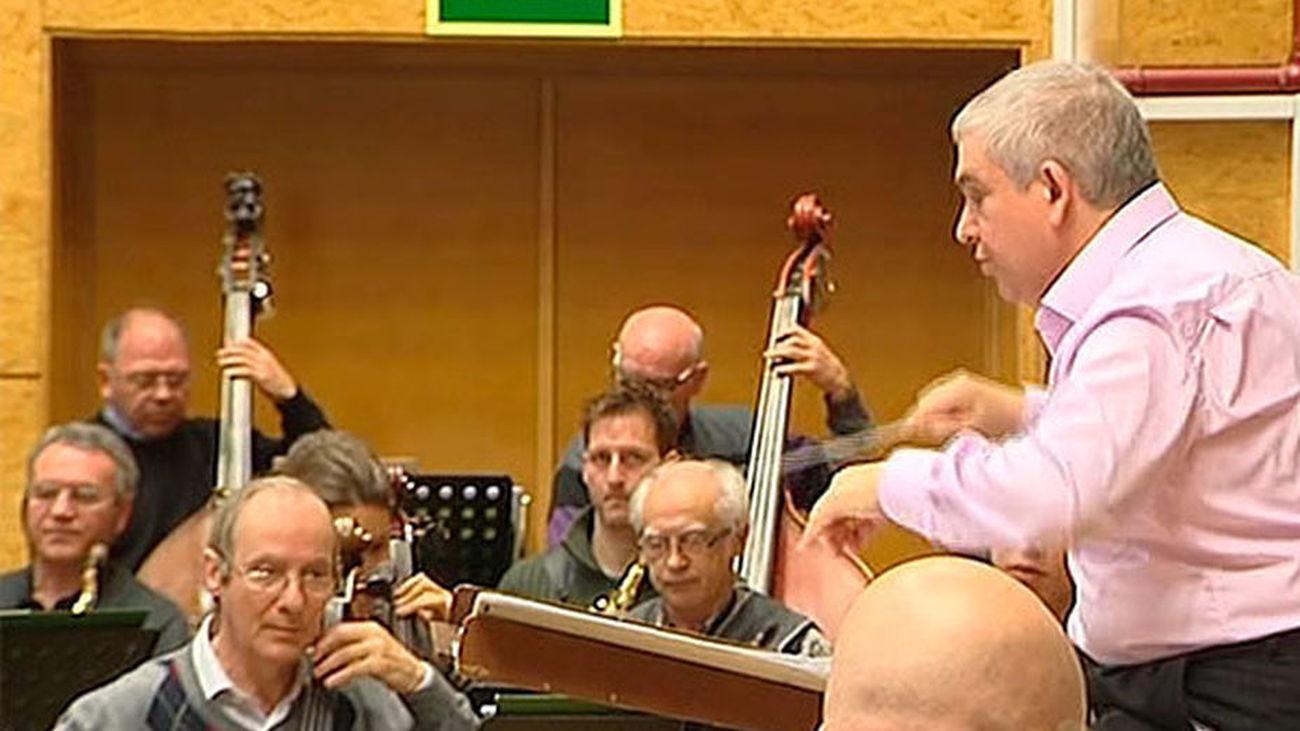 Músicos de la Banda Sínfónica Municipal de Madrid