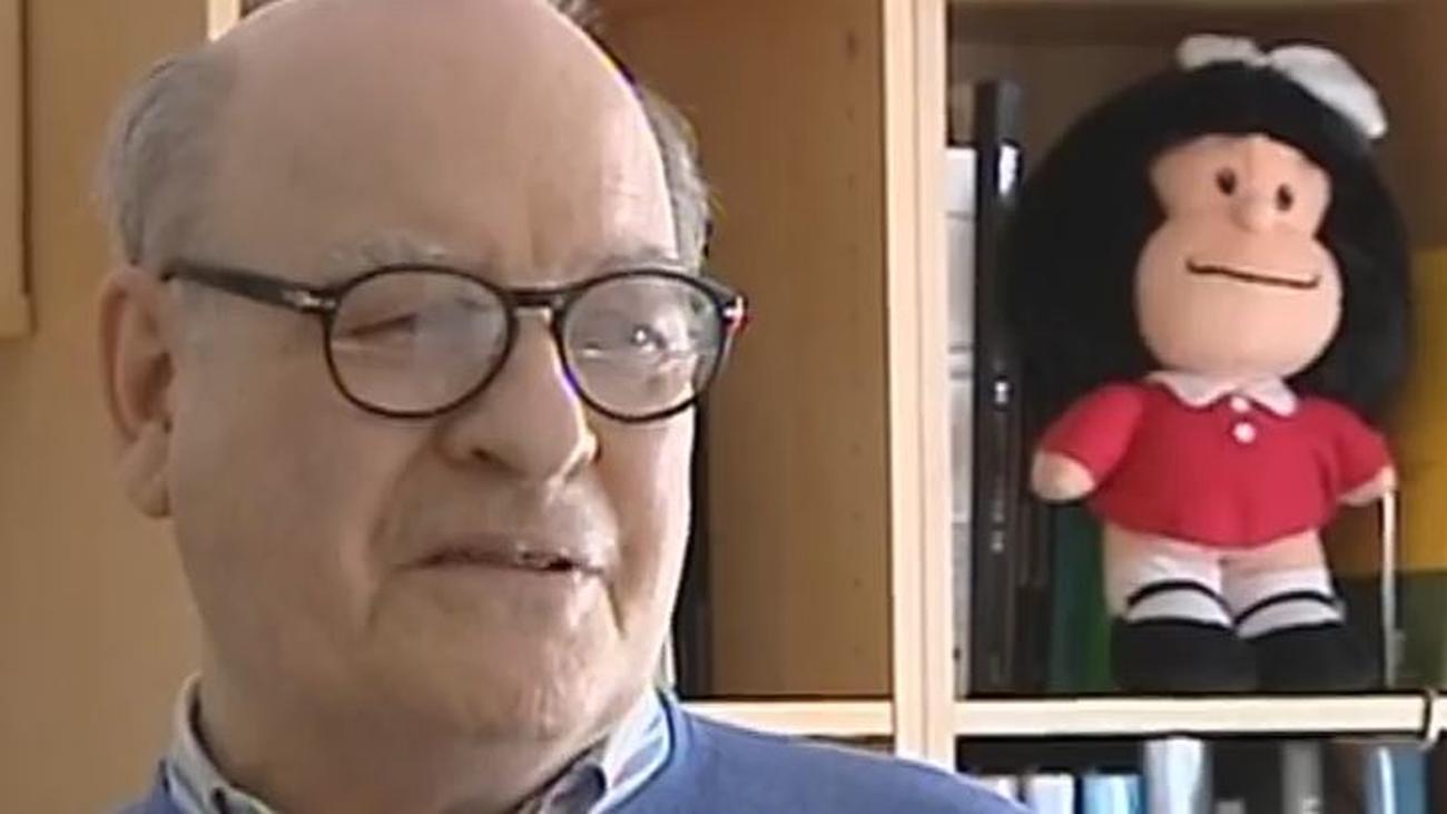 Quino, el autor de Mafalda, cumple 88 años en el cincuenta aniversario de su mejor personaje