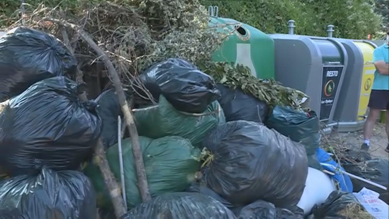 Cansados de basura en Los Molinos