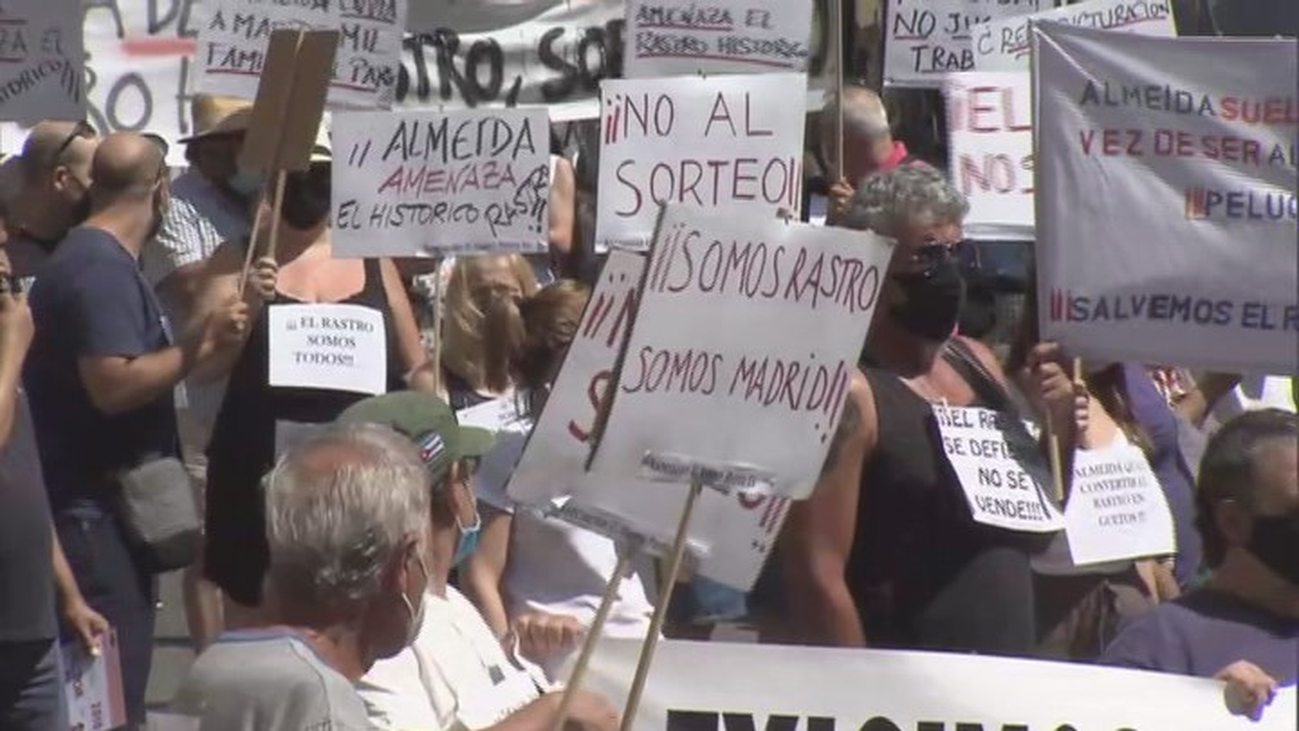 Madrid sigue otro domingo sin Rastro