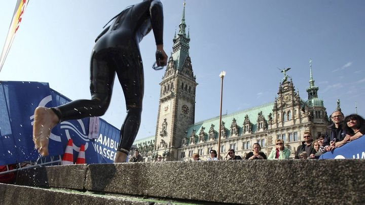 Suspendidas las pruebas de triatlón del Mundial de Hamburgo