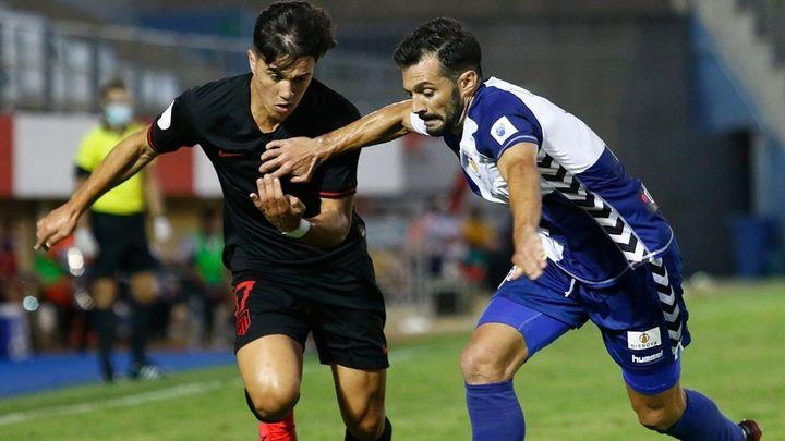 1-1 (3-1). El Atleti B, eliminado en los penaltis por el Sabadell