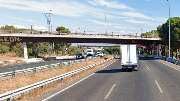 La Comunidad de Madrid reparará el puente sobre la M-607 del enlace sur de Tres Cantos