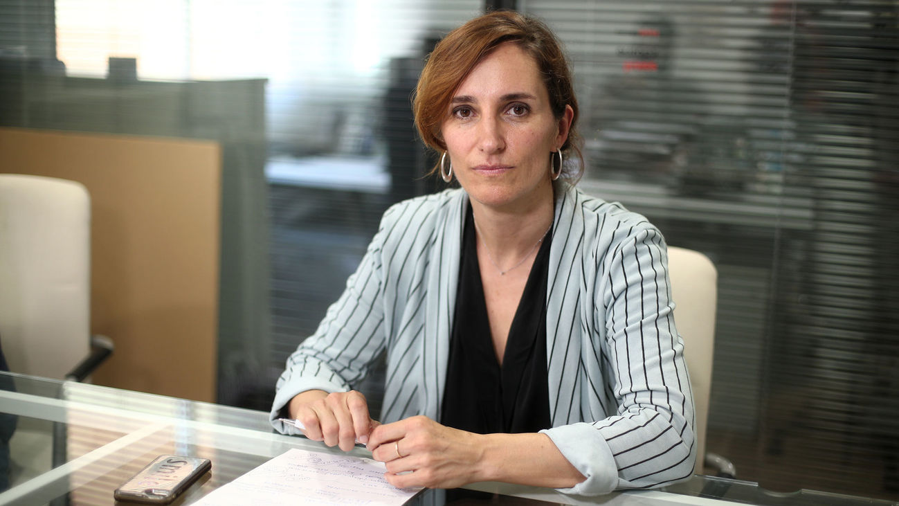 Mónica García, líder de Más Madrid en la Comunidad de Madrid