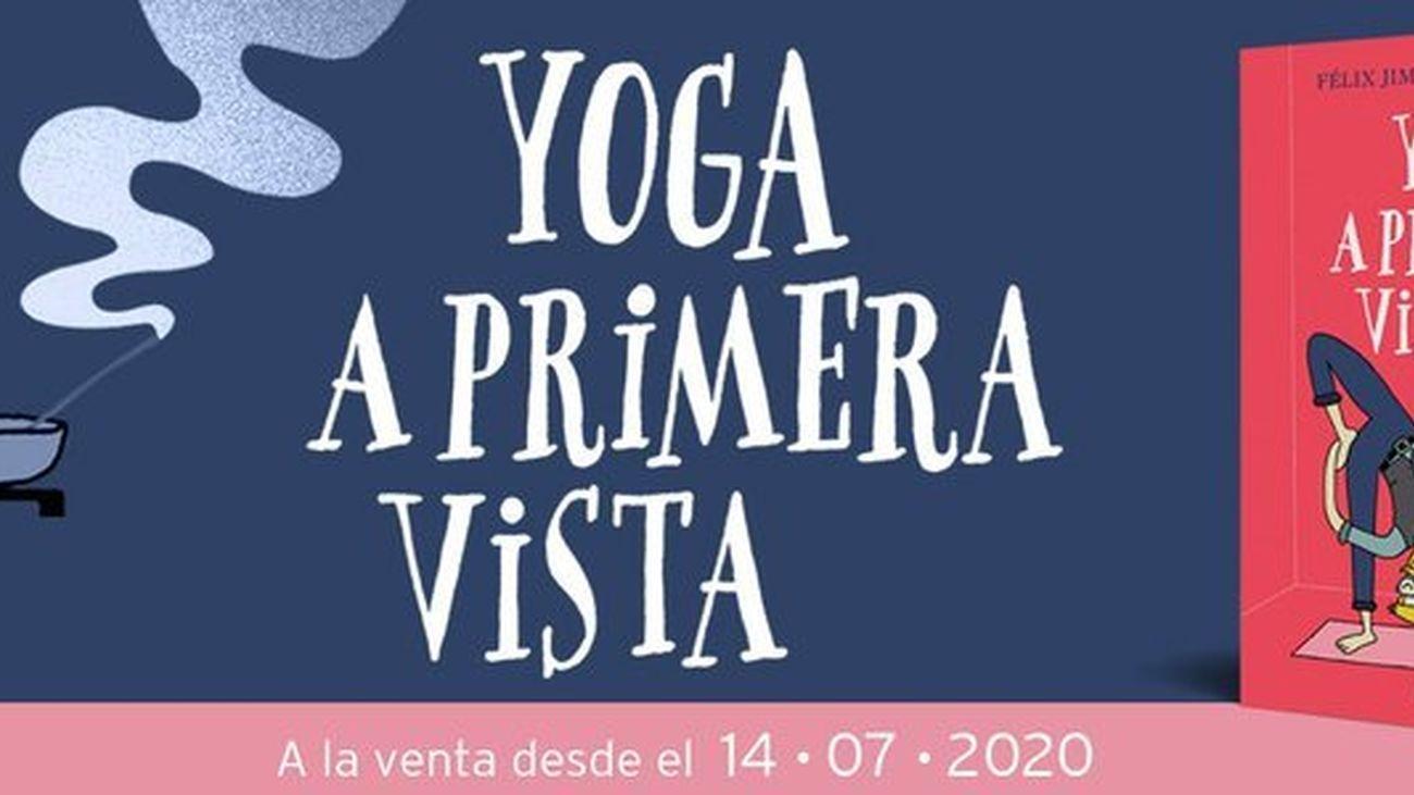 "Félix Jiménez Velando nos presenta su libro ""Yoga a primera vista"""