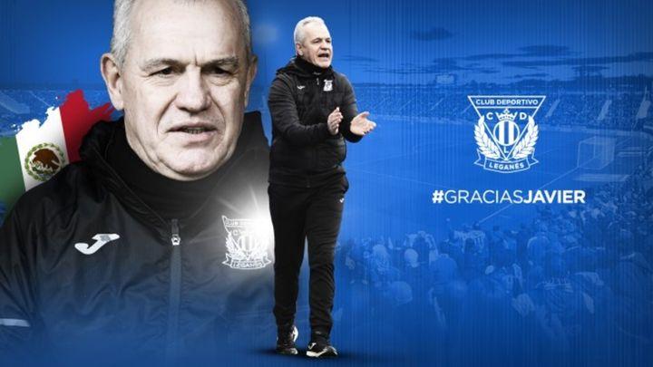 Javier Aguirre deja de ser entrenador del Leganés