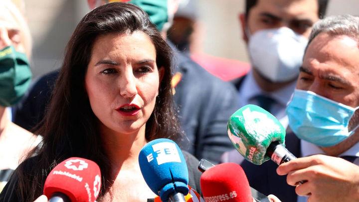 """Rocío Monasterio: """"El Gobierno tiene que dar una orden clara y homogénea sobre las mascarillas"""""""