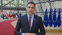 """Sánchez, satisfecho por el """"acuerdo histórico"""" en la UE que otorga a España 140.000 millones de euros"""