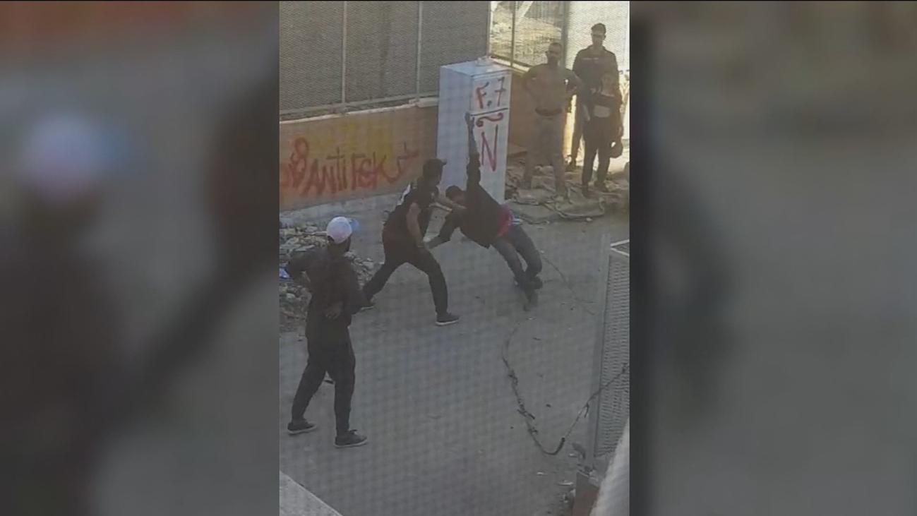 Pelea a puñetazos en un edificio okupado de Carabanchel
