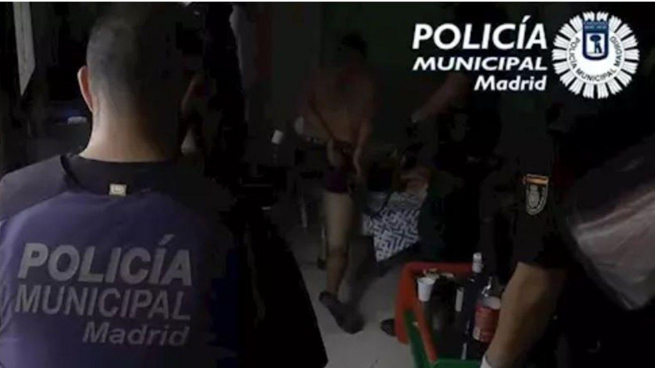 Operación policial contra los narcopisos