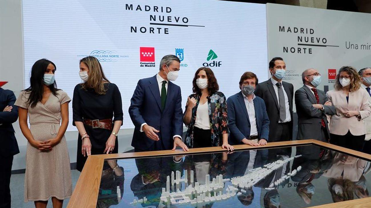 Las primeras viviendas en Madrid Nuevo Norte, para 2023