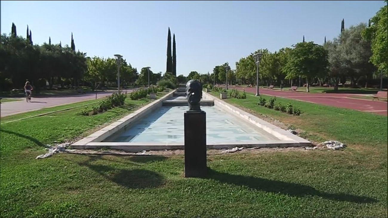 Pinto retirará el nombre y el busto de Juan Carlos I al mayor parque de la localidad