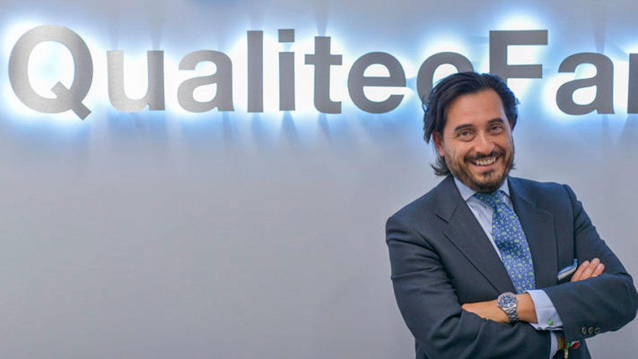 Oscar Mesa, consejero delegado de  QualitecFarma