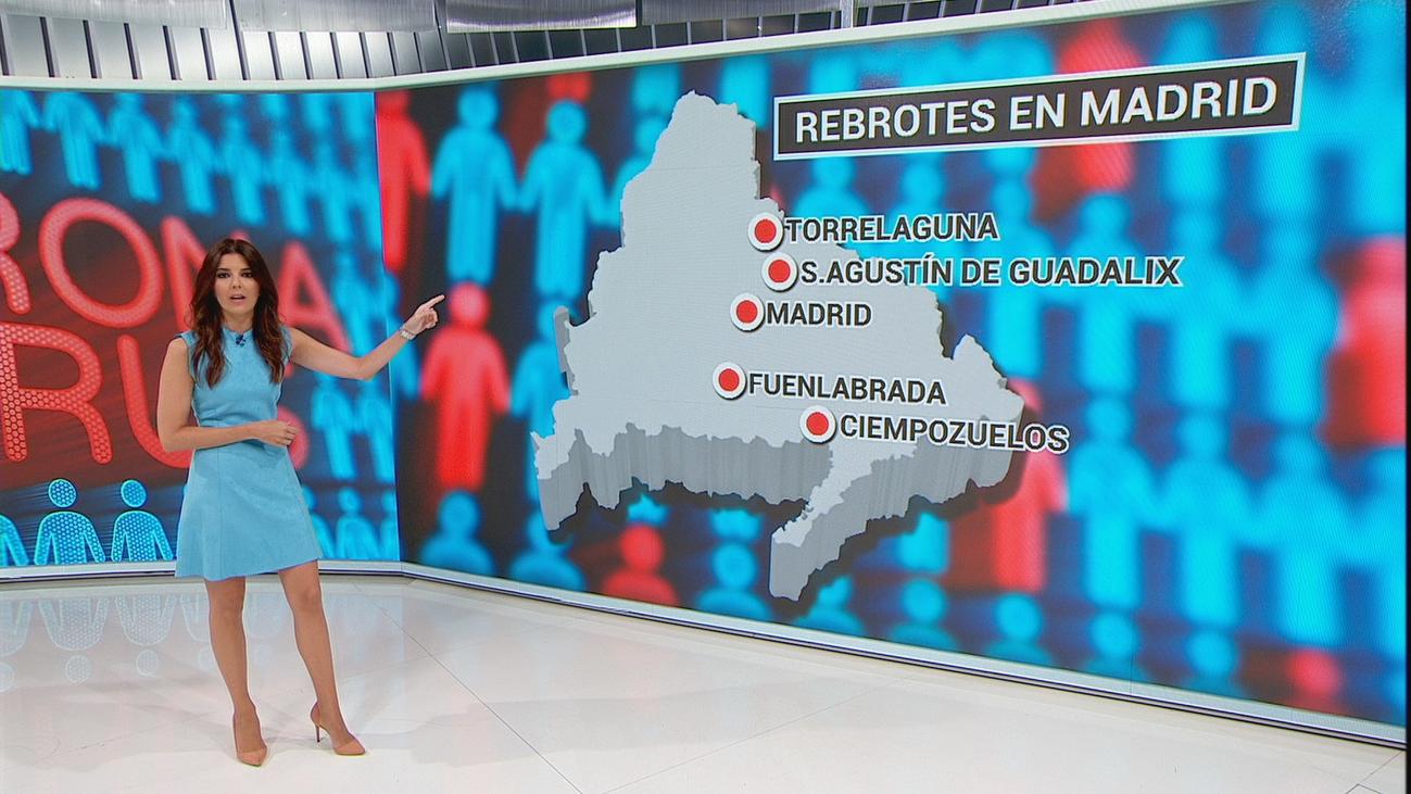 Revuelo y enfado en San Agustín, Torrelaguna y Ciempozuelos por estar en el mapa de los rebrotes de Madrid
