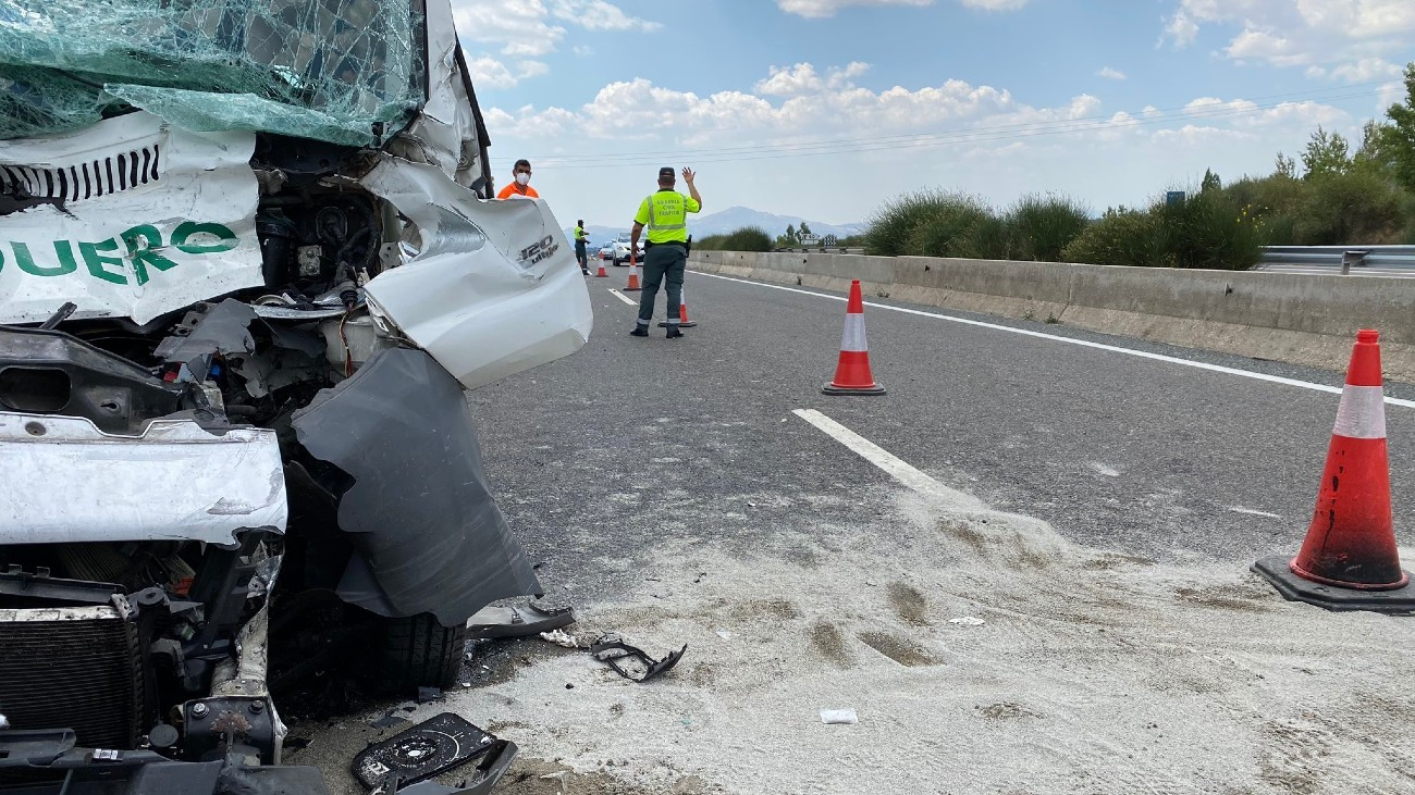 Accidente de tráfico en La Cabrera