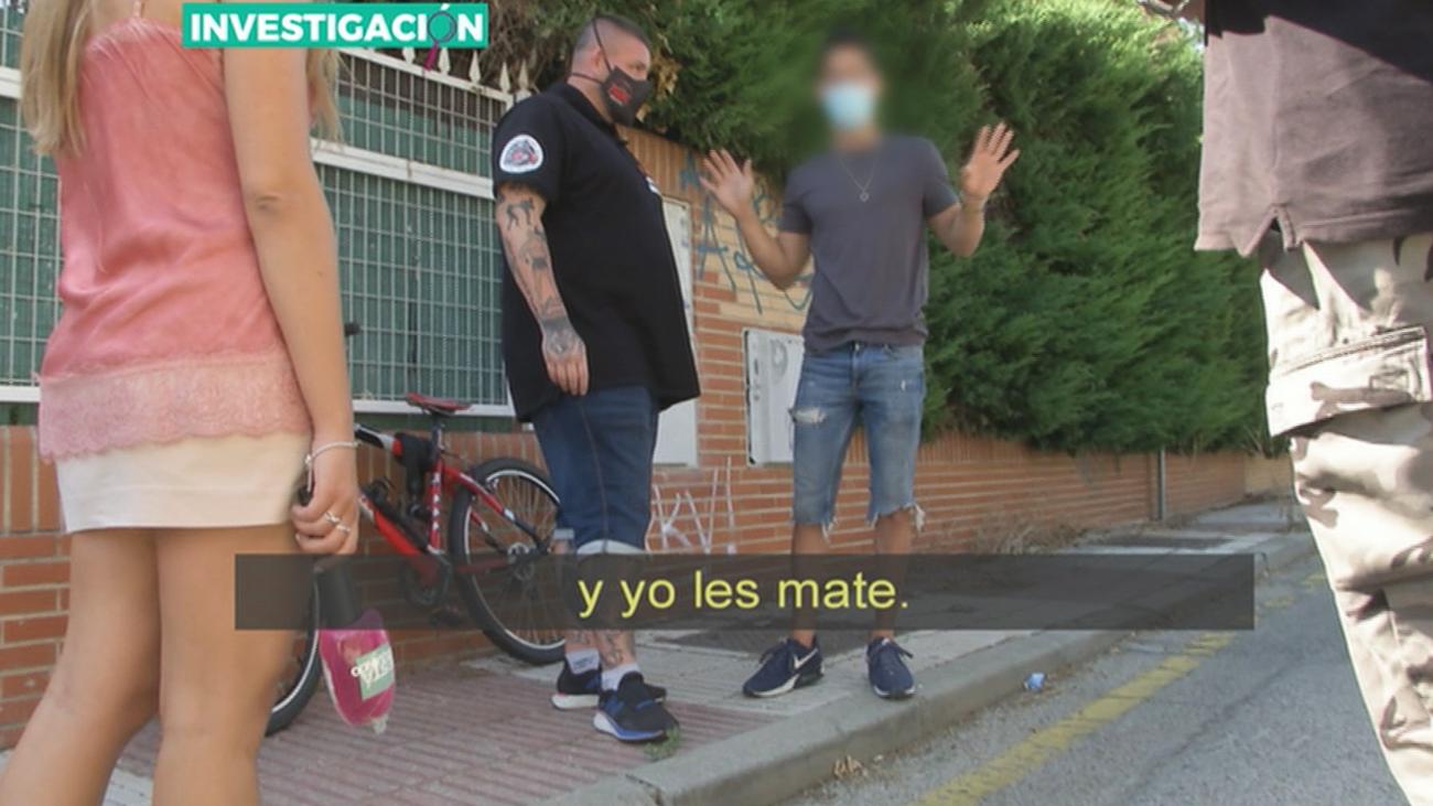 """Así ha sido el intento de negociación con una pareja  """"Okupa"""" de un chalet en Alcorcón"""