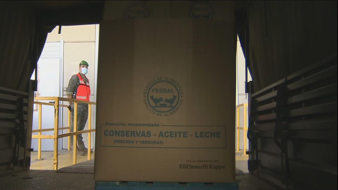 El Ejército se traslada a Lepe para  prevenir contagios entre los asentamientos de temporeros
