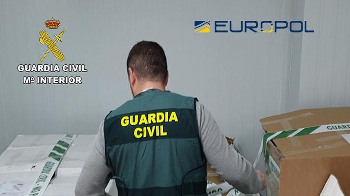 Detenidas 19 personas e imputadas otras 40 en una operación europea contra el fraude alimentario