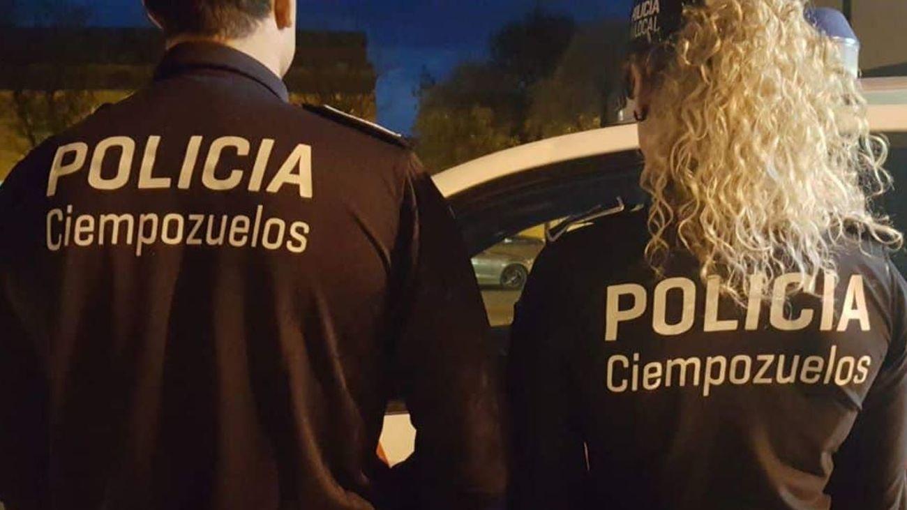 Agentes de la Policía Local de Ciempozuelos