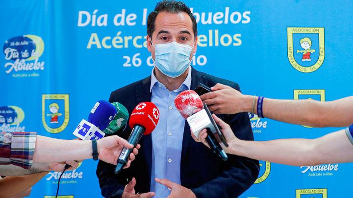 """Aguado apuesta por un """"parón"""" contundente en Madrid para bajar los contagios"""