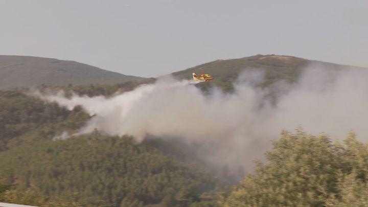 Estabilizado el fuego de Orense que afecta a más de 450 hectáreas