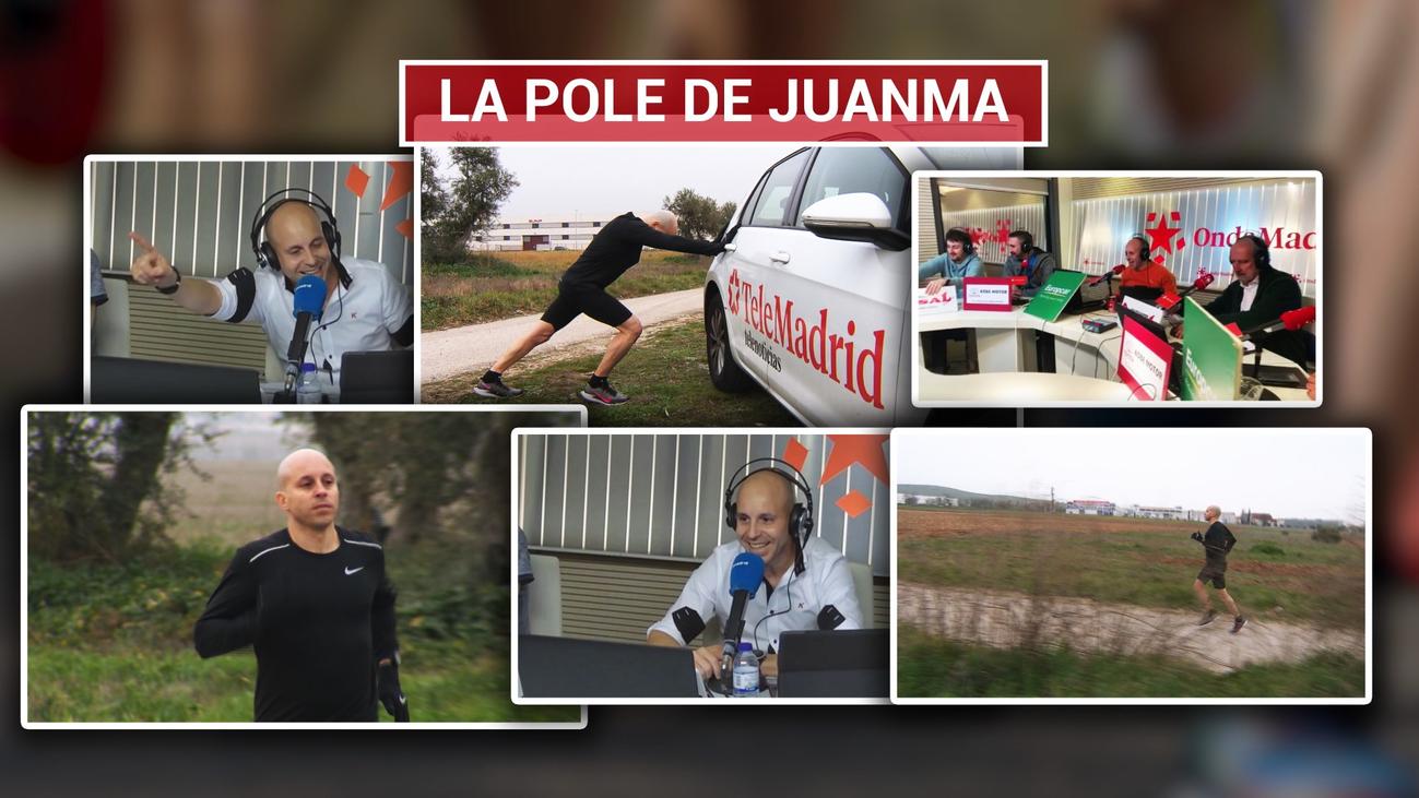 Las dos pasiones de Juanma Fernández, el motor y los maratones