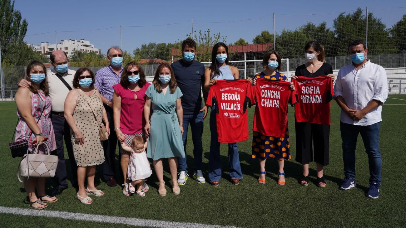 Madrid dedica a David Díez de la Cruz un campo de fútbol en Villaverde