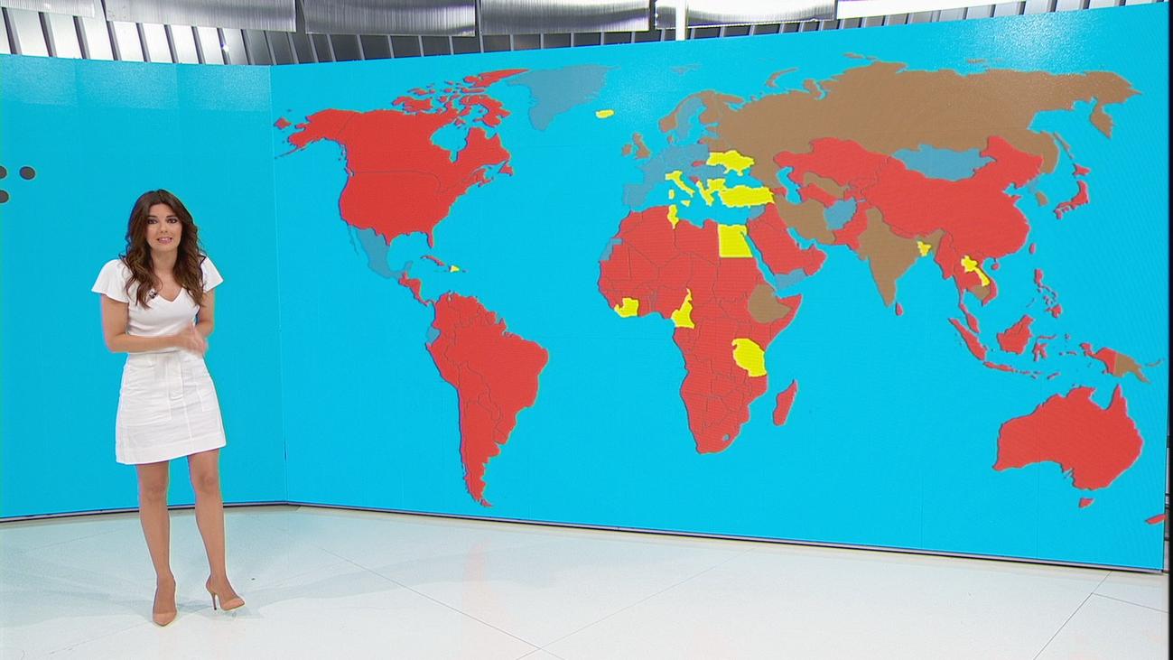 160 países imponen restricciones a los viajeros procedentes de España