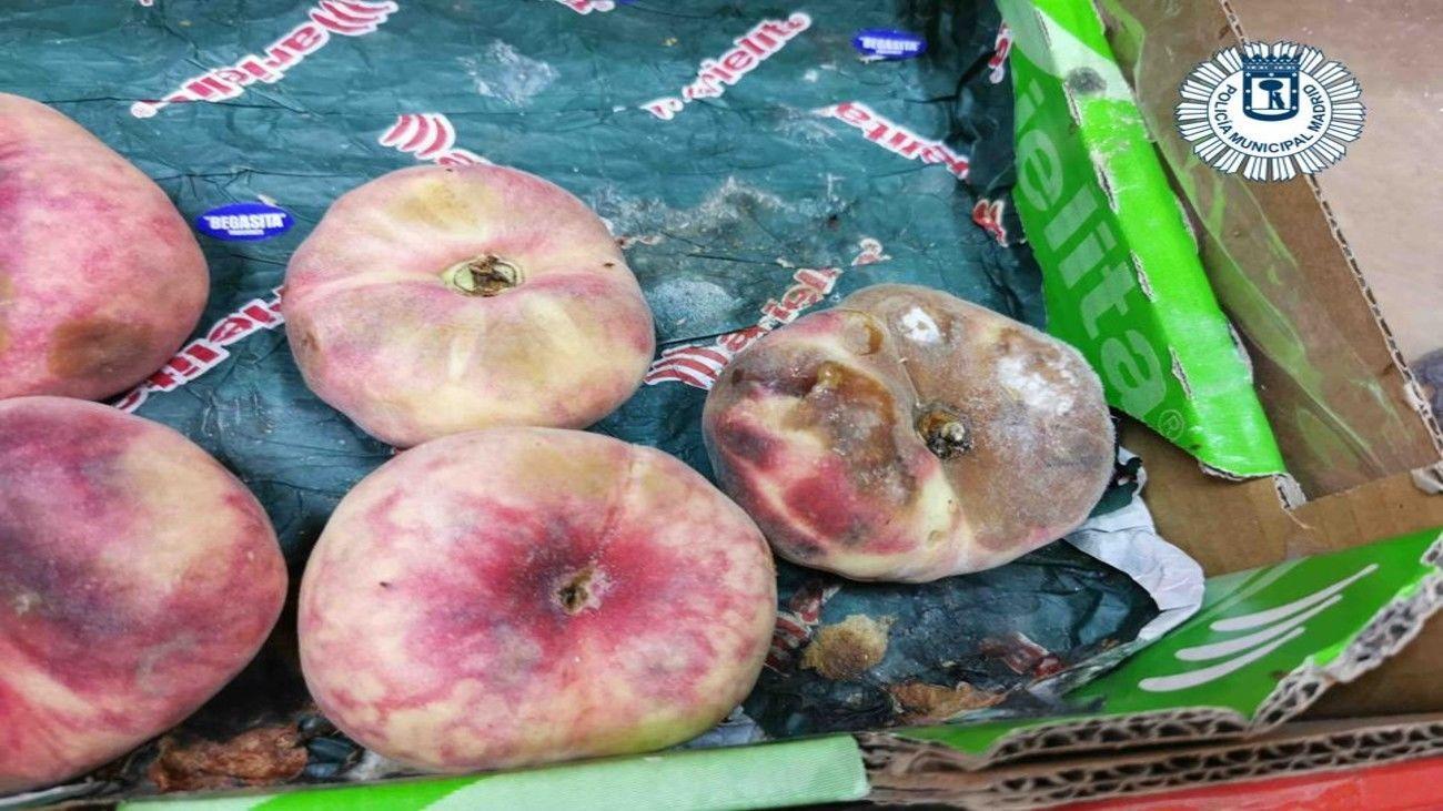 Fruta en mal estado