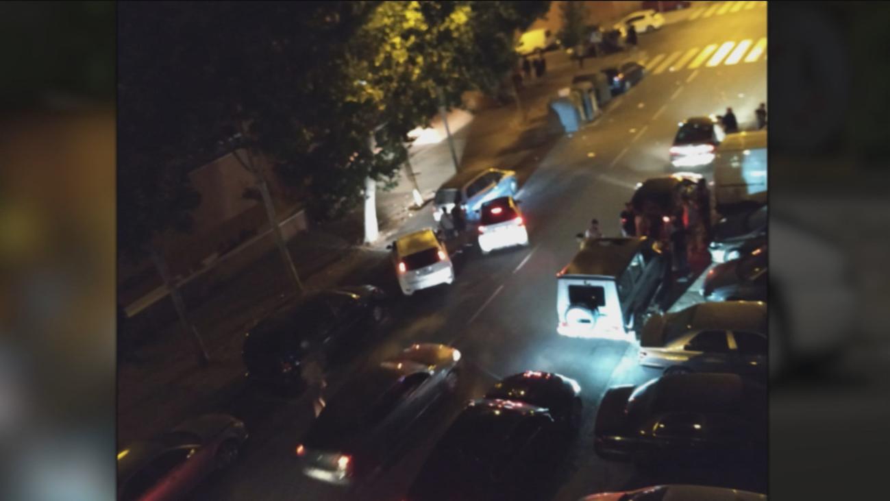 Contra las carreras de coches ilegales en Entrevías