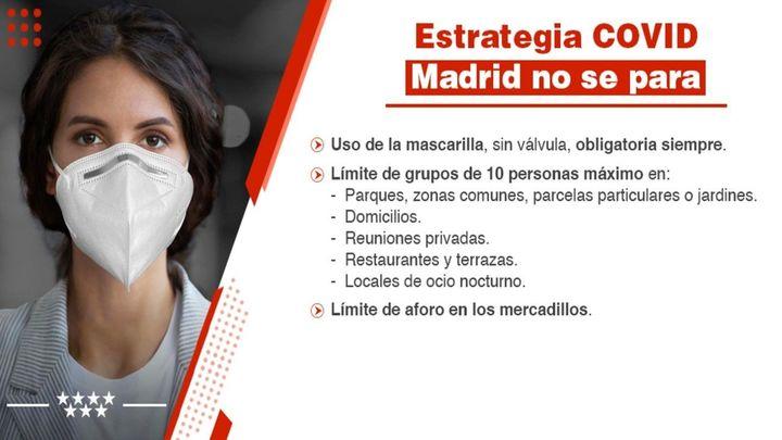 Los municipios madrileños se vuelcan en las redes sociales para informar del nuevo plan anticovid
