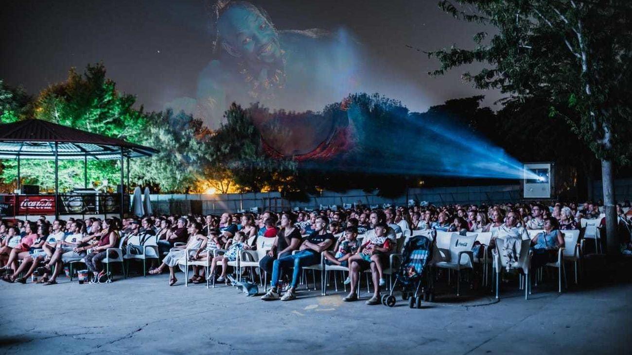 Cine de verano en el Parque de la Bombilla