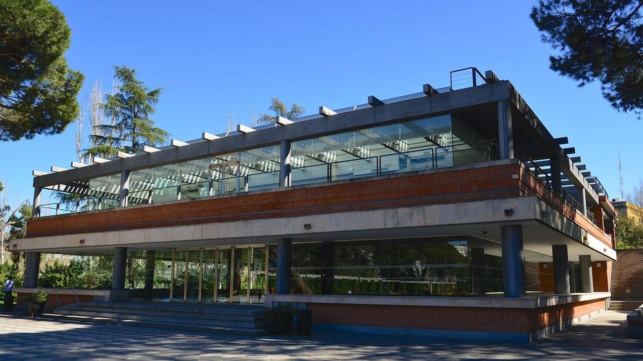 Pabellón de los Jardines de Cecilio Rodríguez en El Retiro