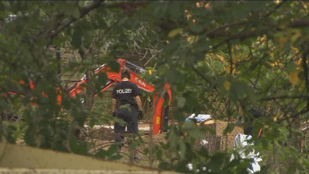 Buscan el cuerpo de Madelaine en el jardín del sospechoso de su crimen en Hannover