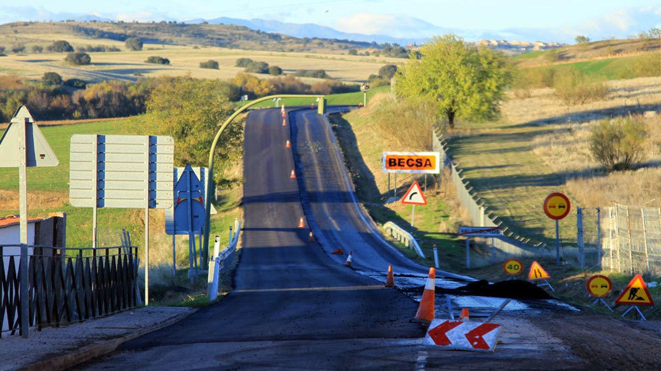 Primeros pasos para ampliar la carretera M-123 entre Algete y Valdeolmos
