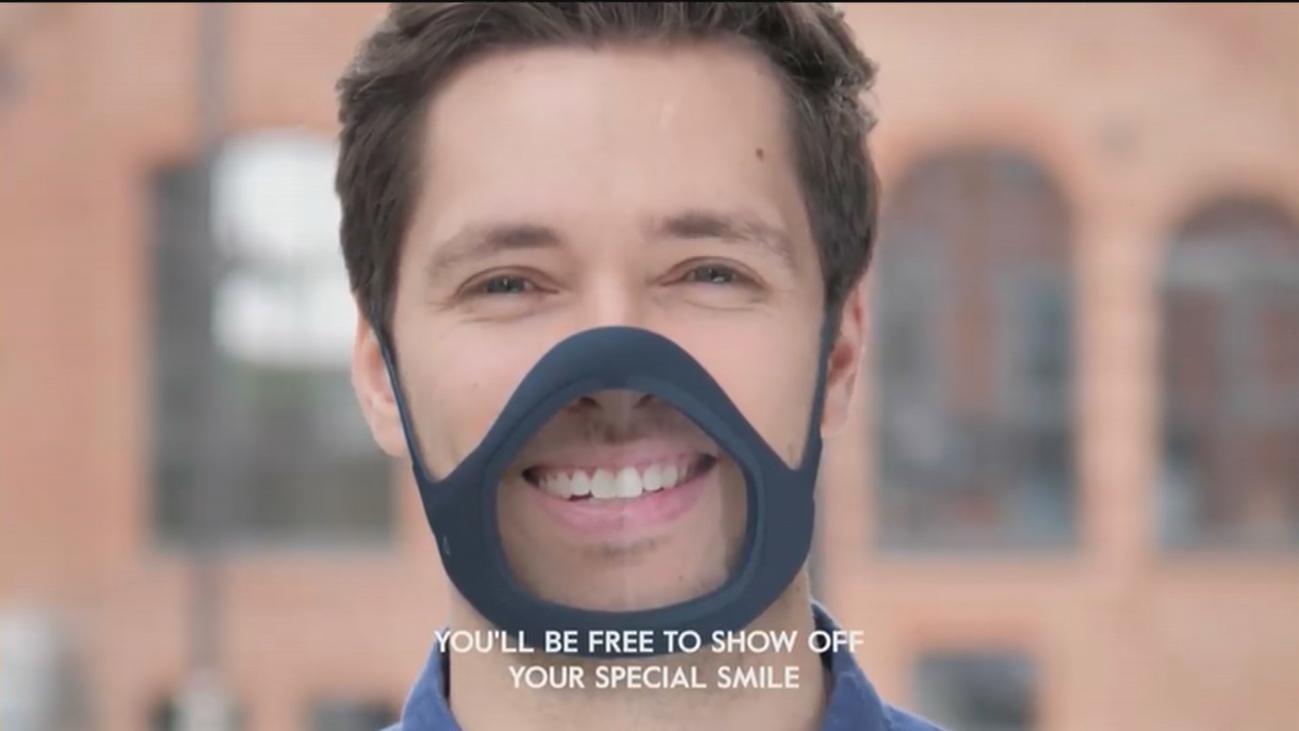 Una empresa española crea una mascarilla transparente inteligente