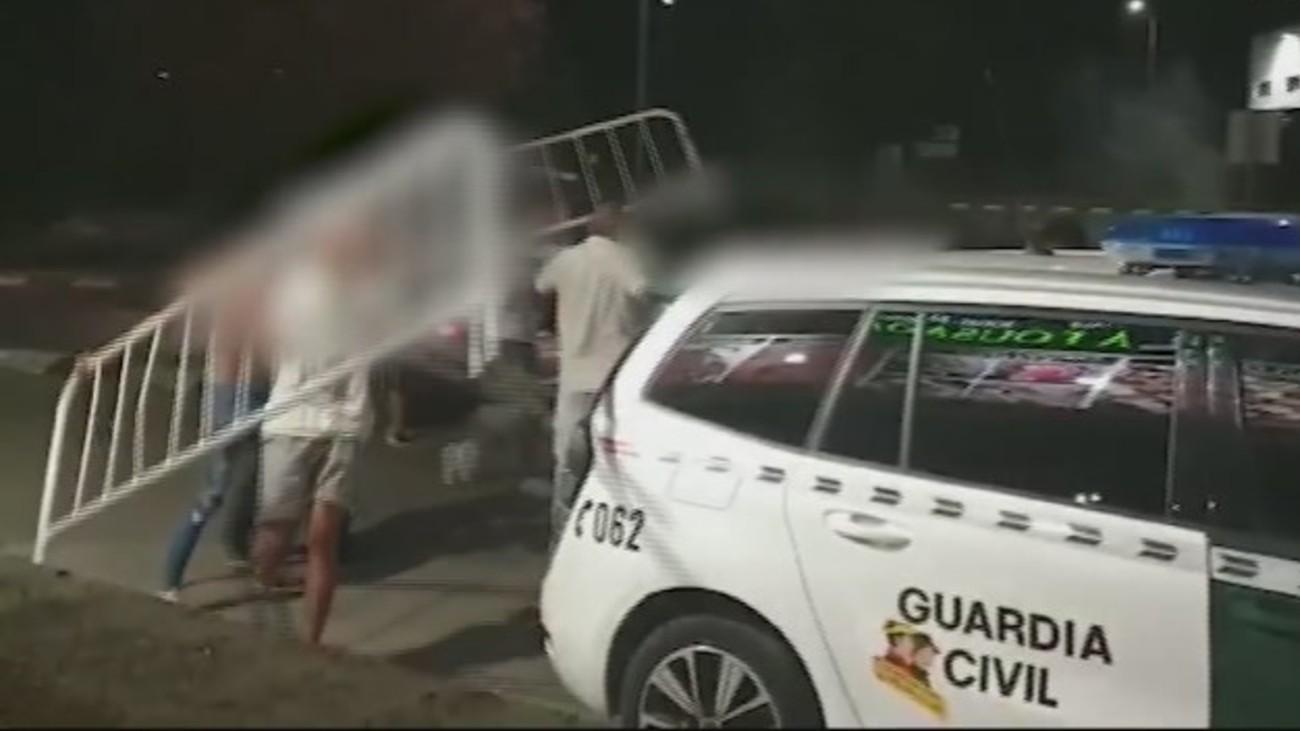 """Nuevas imágenes de la reyerta mortal de El Álamo: """"Dame una valla que lo mato"""""""
