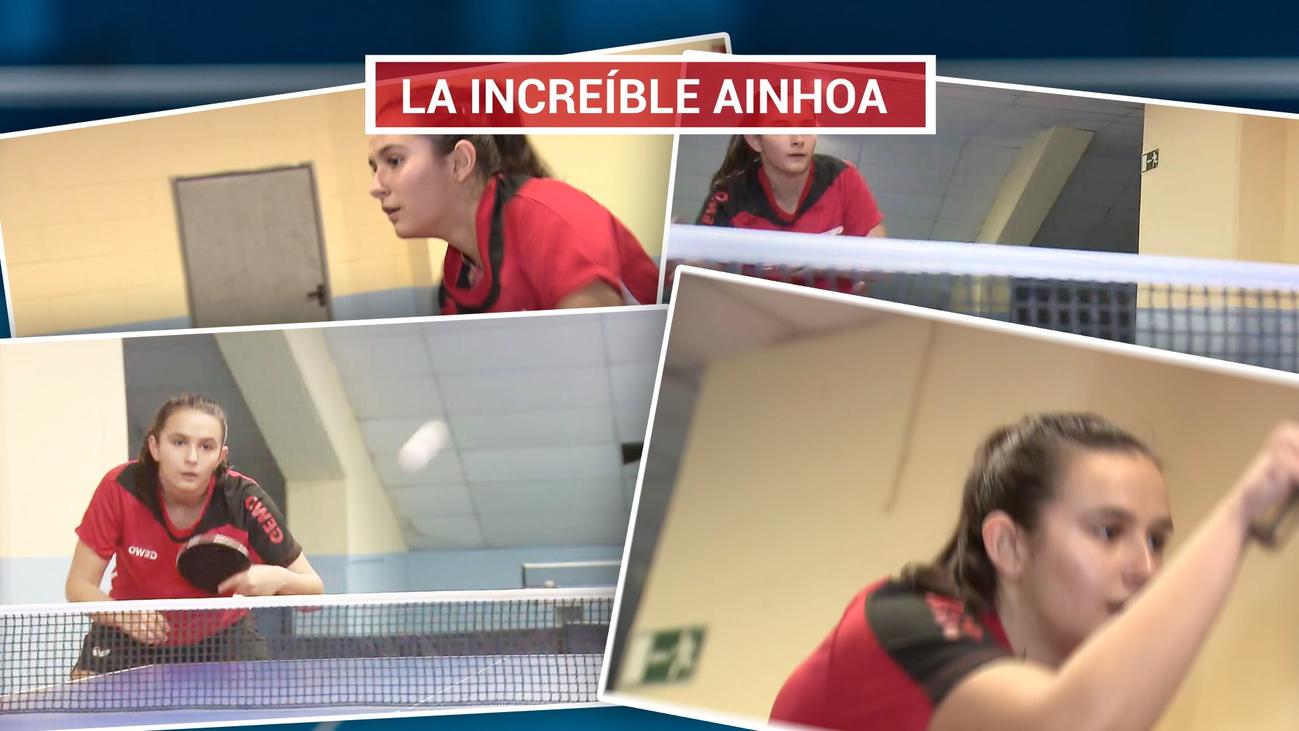 Ainhoa Cristóbal, presente y futuro del tenis de mesa