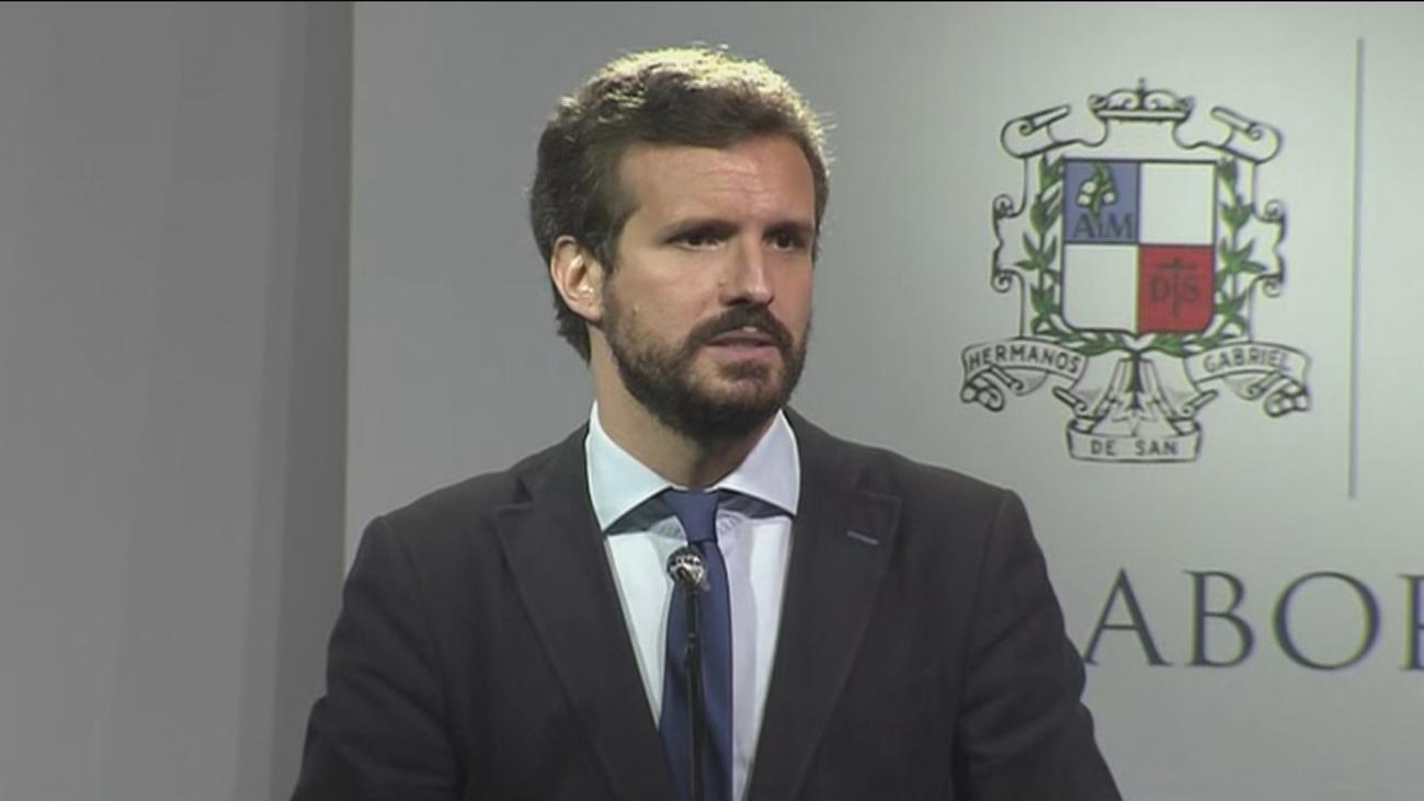 """Pablo Casado asegura que el PP """"quiere ganar a la izquierda en las urnas"""""""