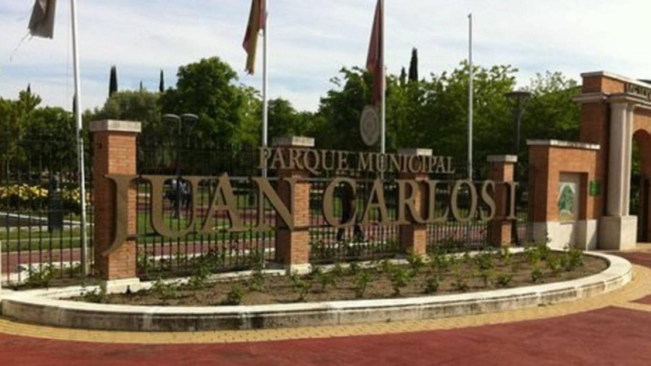 Pinto retirará el nombre del rey Juan Carlos I a su parque principal