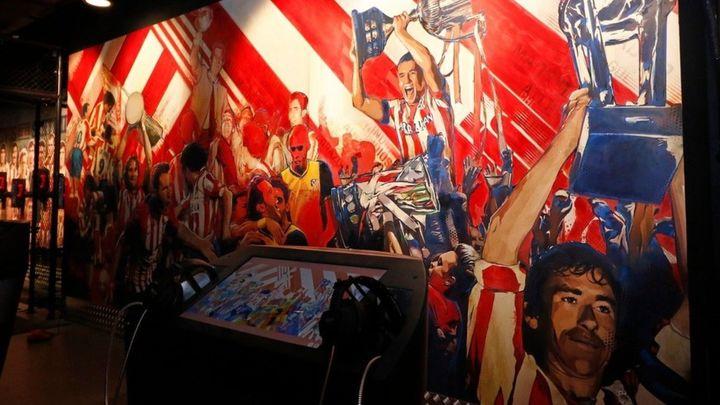 Nace 'Territorio  Atleti', el nuevo museo rojiblanco en el Wanda Metropolitano