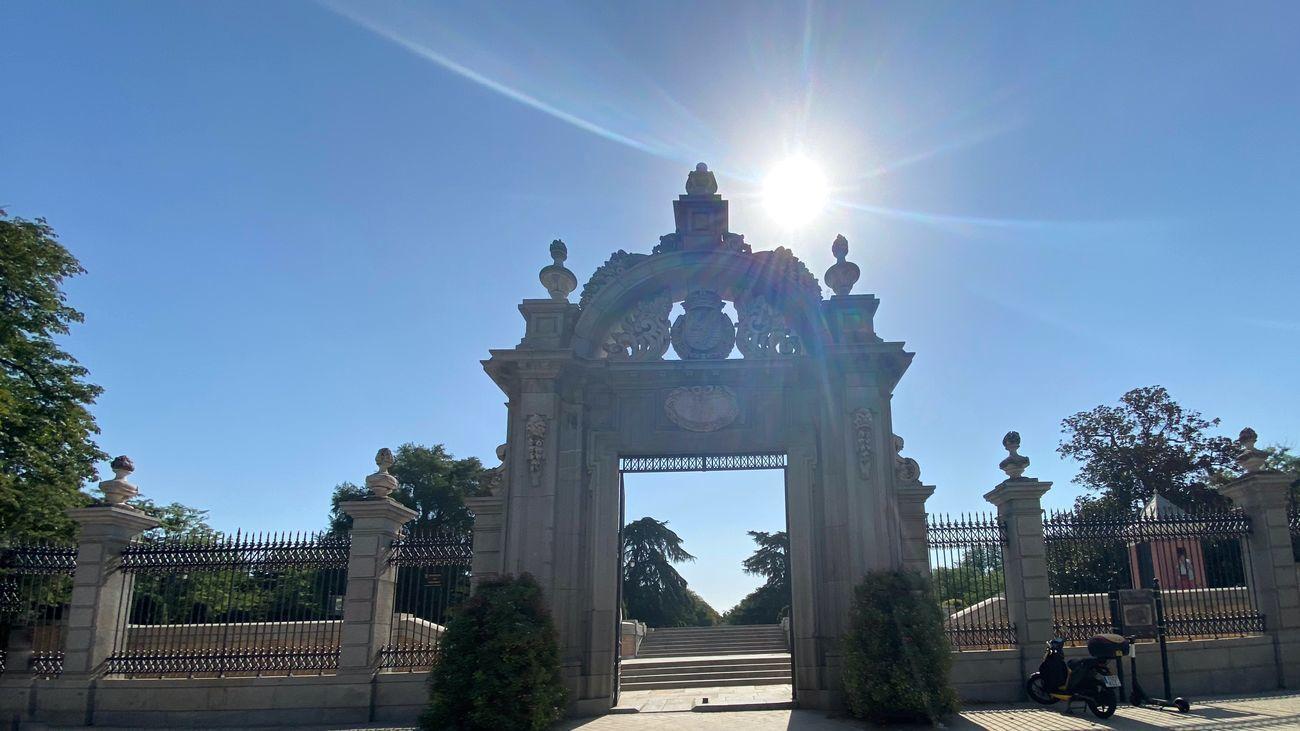 Puertas de acceso al Retiro