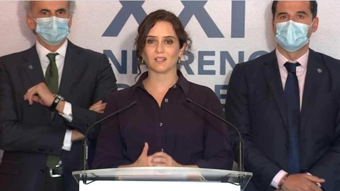 """""""Todas la comunidades deben ser iguales"""", reivindica Díaz Ayuso"""